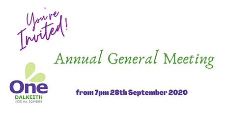 One Dalkeith AGM tickets