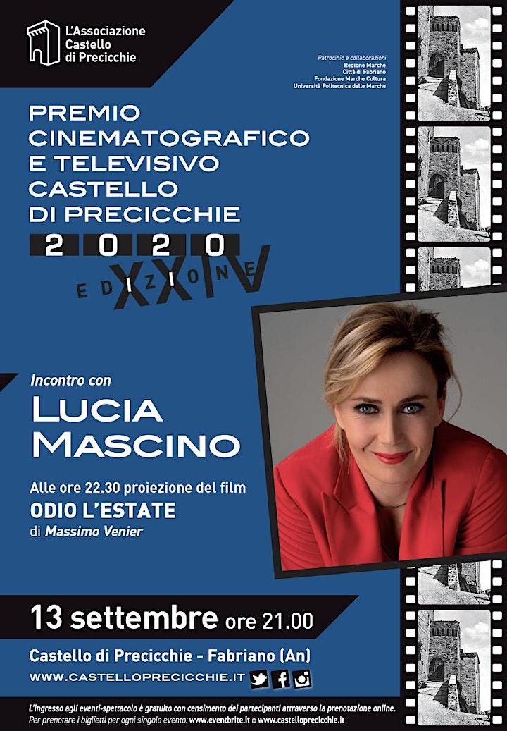 Immagine Incontro con Lucia Mascino