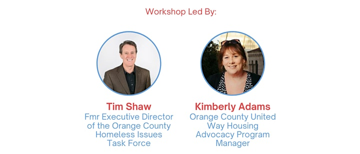 Housing Champions Advocacy 101 Online Workshop (Orange County) image