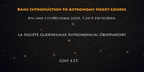 Basic Introduction to Astronomy tickets
