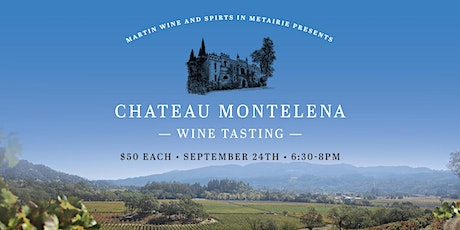 Chateau Montelena Wine Tasting tickets