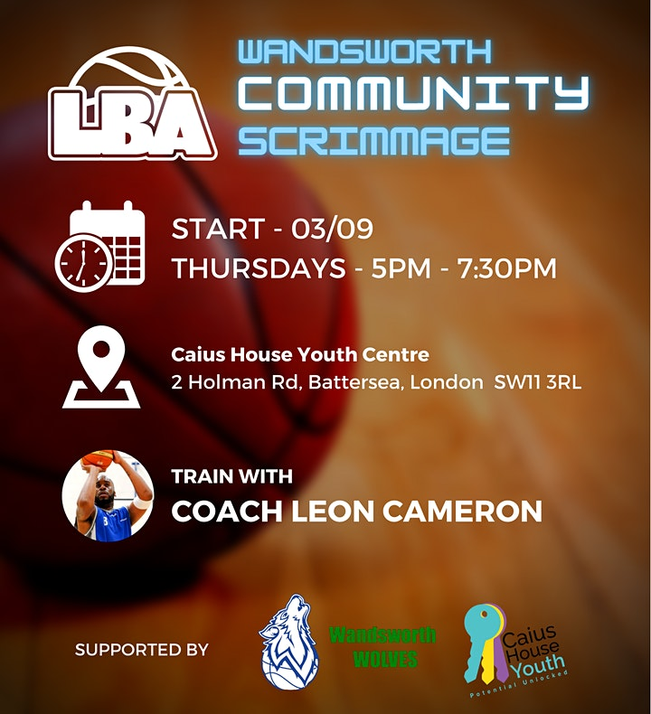 U18 Wandsworth Community Scrimmages - Weekly Basketball image