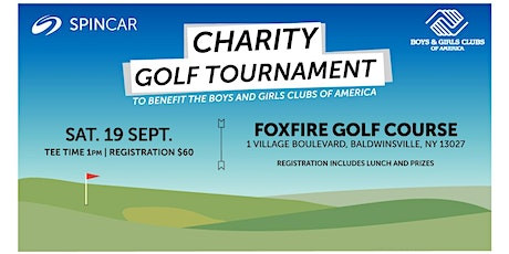 Charity Golf Tournament to benefit the Boys and Girls Clubs of America tickets