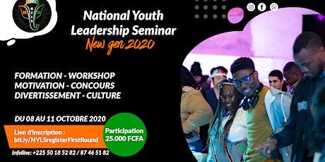 National Youth Leadership Seminar 2020 billets