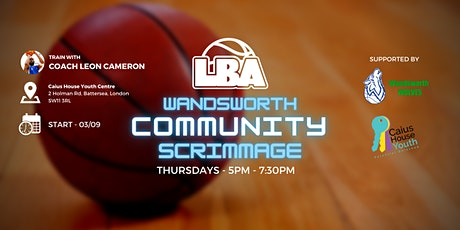 U18 Wandsworth Community Scrimmages - Weekly Basketball tickets