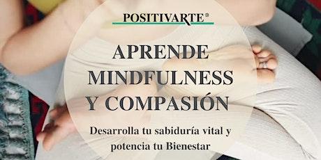 Clases de Mindfulness y Compasión en Positivarte tickets