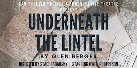 UNDERNEATH THE LINTEL by Glen Berger   -  Sept. 24-27th tickets