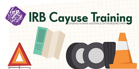 Cayuse IRB Training tickets