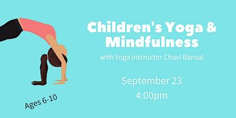 Children's Yoga & Mindfulness tickets