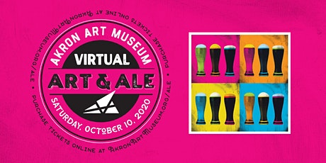 Virtual Art & Ale tickets