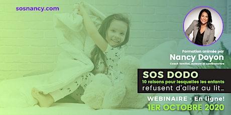 Webinaire : 10 raisons pour lesquelles les enfants refusent d'aller au lit! billets
