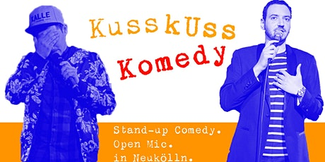 Stand-up Comedy: KussKuss Komedy Open Mic tickets