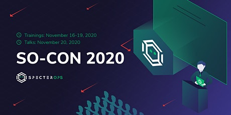 SO-CON 2020 tickets