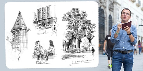 Virtual Urban Sketching Workshops with Gabi Campanario (moved to Zoom!) tickets
