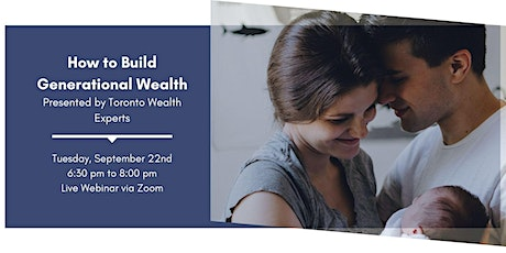 How to Build Generational Wealth tickets