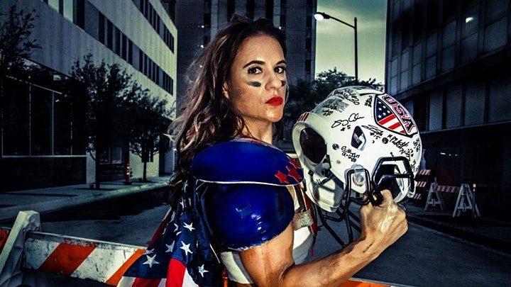 Meet Your SheHero featuring Dr. Jen Welter, first female NFL Coach image