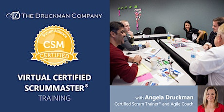 Virtual Certified ScrumMaster® | Pacific Time | Dec 14 - 15 tickets