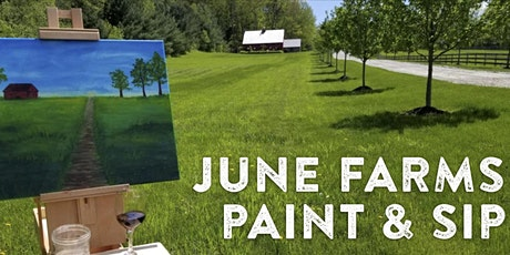 Paint and Sip with Open Space Arts at June Farms! tickets