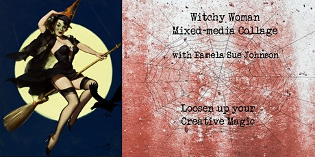 Witchy Woman Mixed-Media with Pamela Sue Johnson tickets