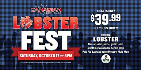 Lobster Fest 2020 (St. Albert - Jensen Lakes) - Night 2 tickets