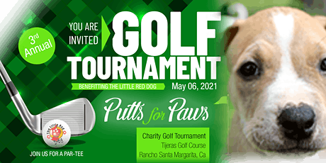 Putts for Paws • Benefitting The Little Red Dog tickets