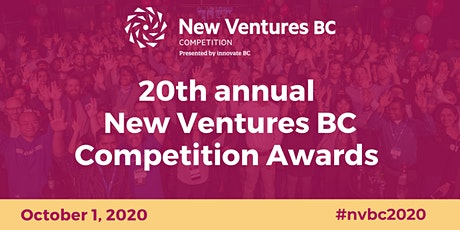 20th Annual New Ventures BC Competition Awards tickets
