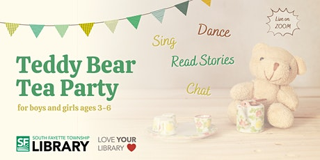 South Fayette Township Library: Teddy Bear Tea Party tickets
