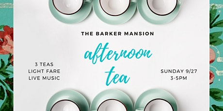 Afternoon Tea  in the Barker Mansion Gardens tickets