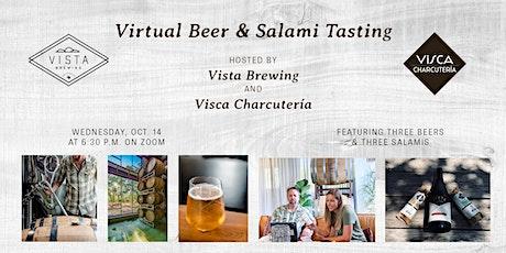 VIRTUAL VISTA: Beer & Salami Pairing with Visca Charcutería tickets