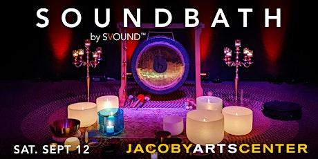 Soundbath at Jacoby Arts Center, Alton IL tickets