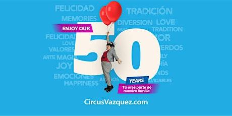 Circo Hermanos Vazquez @ Almeda Mall in Houston, Texas tickets