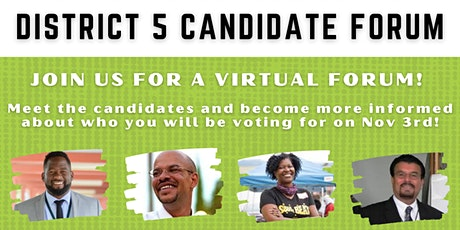 Oakland School Board Elections Forum: Meet District 5 Candidates! tickets