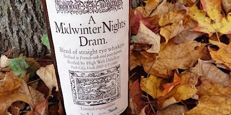 Whiskey Stories:Midwinter Night's Dram Rare Whiskies/Comedy (Virtual w Kit) tickets