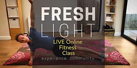 LIVE Online Fitness Class tickets