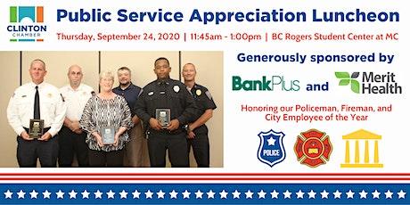 Clinton Chamber Public Service Appreciation Luncheon tickets