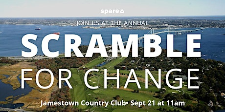 Scramble For Change — Golf Tournament Fundraiser tickets