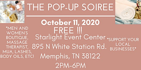 The Pop-Up Soiree tickets