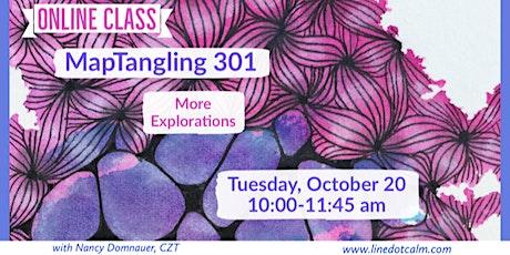 Zentangle® MapTangling 301 biglietti