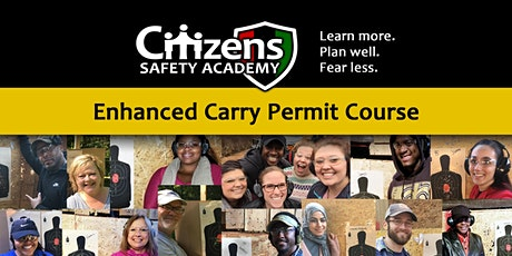 Enhanced Handgun Carry Permit Class (Private) tickets