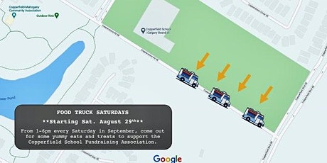 Food Truck Saturday's for Copperfield School Fundraising Association tickets