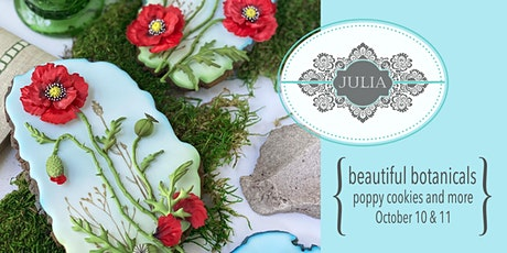 Beautiful Botanicals Cookie Decorating Course with Julia M. Usher tickets