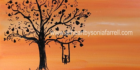 Sunset & Silhouette  with Sonia Farrell: Creative Hearts Art tickets