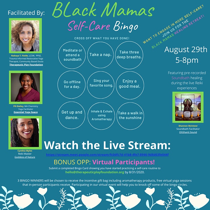 Black Mamas Healing Retreat image