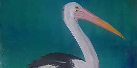 Paint and Sip: Pelican theme tickets