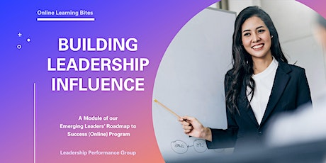 Building Leadership Influence (Online - Run 7) tickets