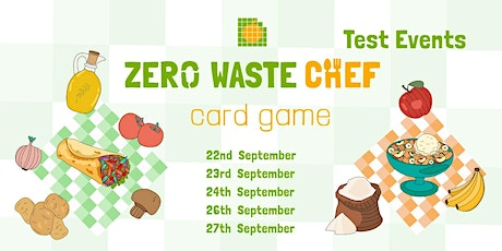 Zero Waste Chef Test Events tickets