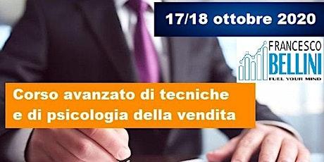 Corso  avanzato di Tecniche e psicologia della vendita biglietti