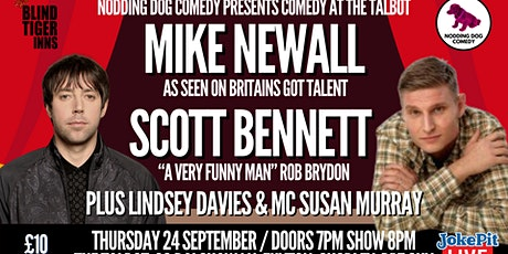 Comedy at The Talbot tickets