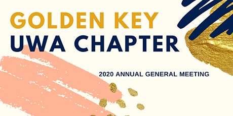Golden Key UWA Chapter Annual General Meeting tickets