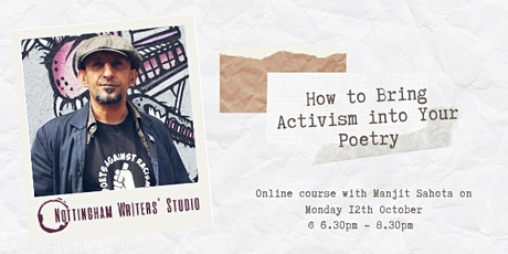 How to Bring Activism into Your Poetry tickets